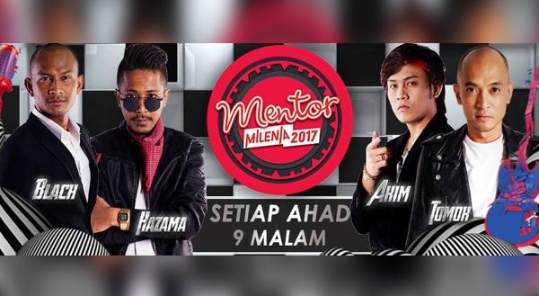 Live Streaming Konsert Mentor Milenia 2017 Minggu 12