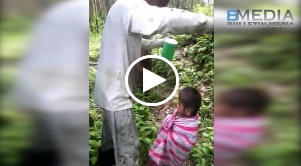 Budak disorok bunian!! Cuba tengok kelibat ape selepas budak itu dijumpai