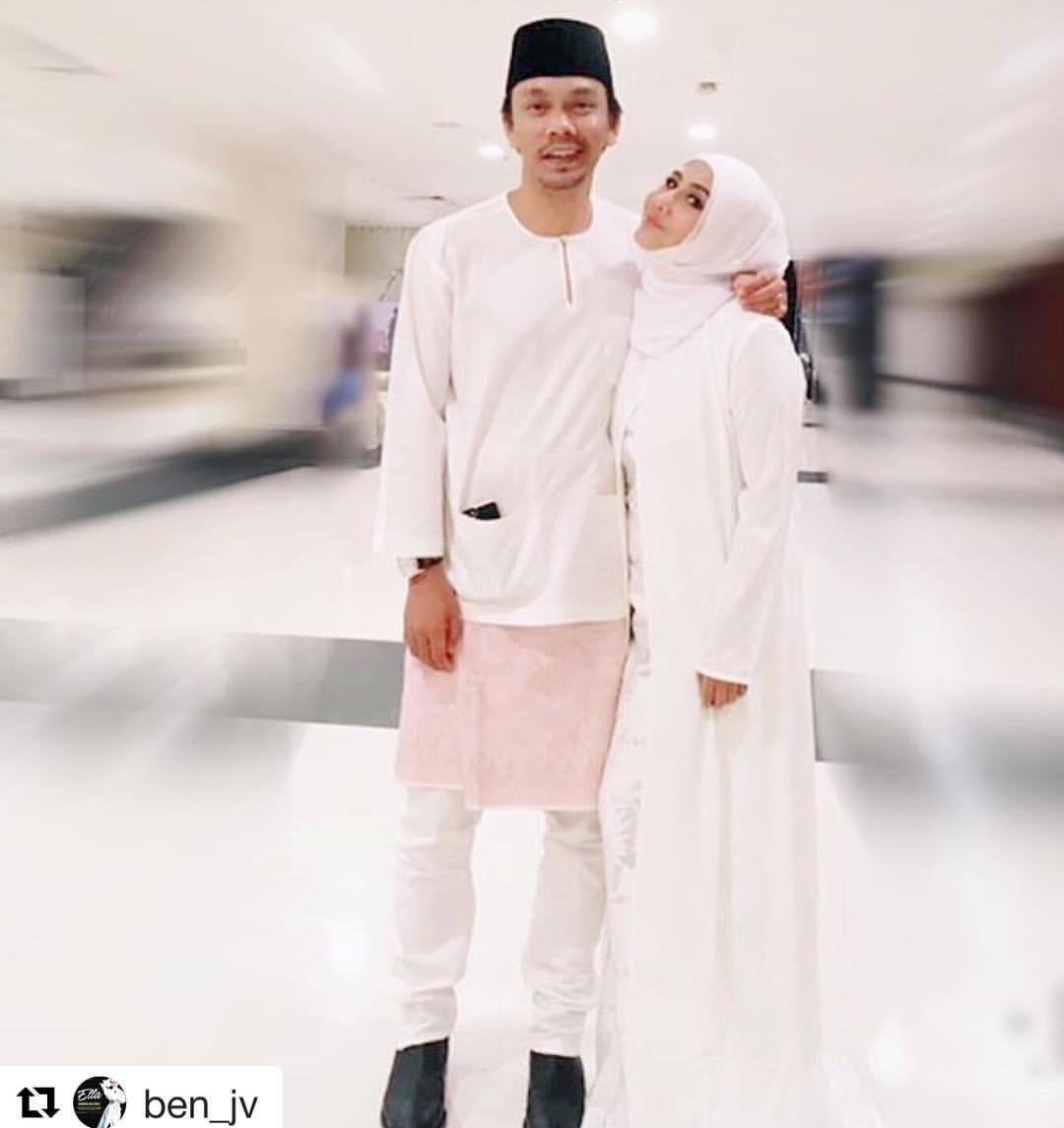 Tag baju raya ella fesyen baju gambar artis hari raya instagram keluarga artis pelakon suami isteri