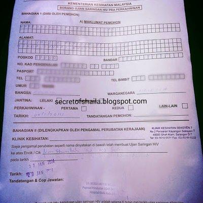 Ujian Saringan Hiv Untuk Pra Perkahwinan Di Selangor Apa Kabar