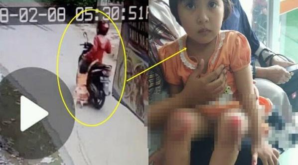 (VIDEO) Kejam! Ibu Seret Anak Usia 4 Tahun Atas Jalan Raya Dengan Motosikal..