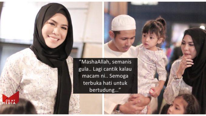 """""""Cantiknya Zira Pakai Tudung…"""" – Majlis Sedekad Dalam Industri Seni, Netizen Puji Penampilan Jelita Isteri Nabil Ahmad 😘"""