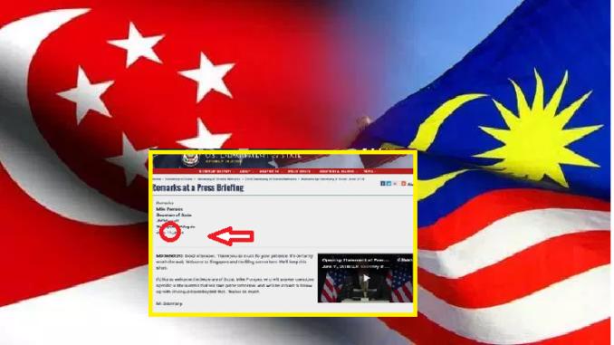 Buta sejarah!: Tindakan Jabatan Negara Amerika Syarikat (AS) ini menimbulkan kontroversi kepada Malaysia & Singapura
