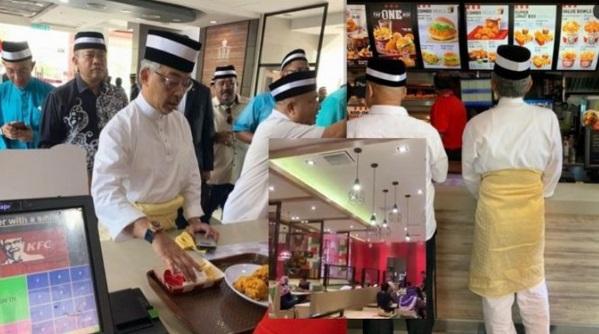 Agong pun beratur beli KFC..Netizen minta 'Makcik Nasi Ayam' Belajar sesuatu.