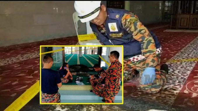 Lelaki disyaki cuba ba4kar masjid ditahan. Saksi dedah apa yang dia nampak