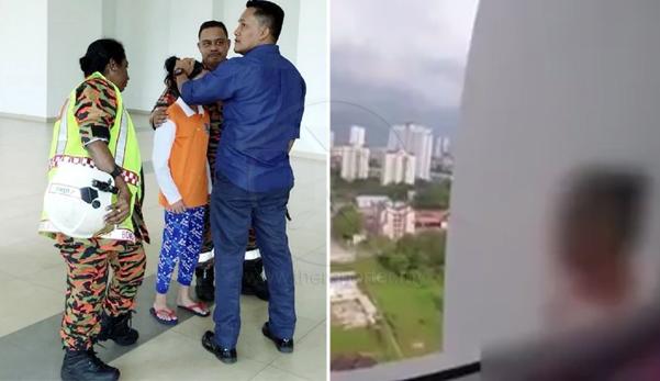 (Video) 'Ibu marah adik sebab ibu sayang' - Budak cuba terjun dari tingkat 19 selepas bertengkar dengan ibunya mengenai handphone