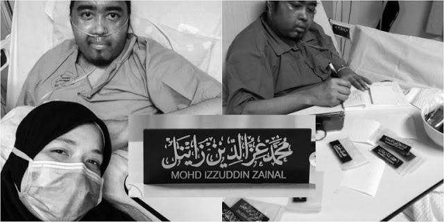 Cikgu Hidap Kanser Limfoma, Ambil Tempahan 'Nametag' Khat Atas Katil Meninggal Dunia