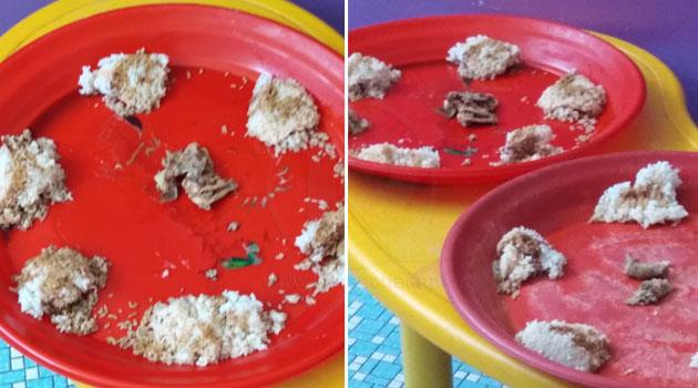 'Hanya nasi, kicap & 2 ketul ayam bahagian leher dikongsi 6 orang anak' - Ibu tuntut penjelasan pihak tadika