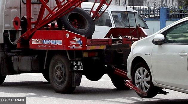 Kalau budak Tow Truck kata 'hantar kat bengkal saya je lah!', itu kencing je sebab diorang takde bengkel