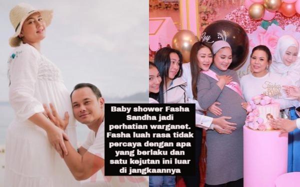Baby shower Fasha Sandha jadi perhatian warganet. Fasha luah rasa tidak percaya dengan apa yang berlaku dan satu kejutan ini luar di jangkaannya
