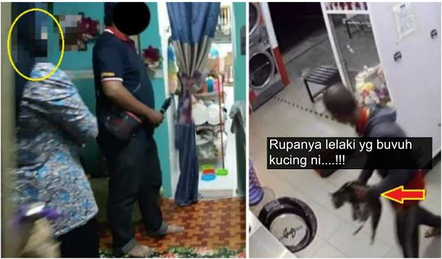 Kecoh Lelaki Bvnuh Kucing di Kedai Dobi. Wanita Berpurdah Ini Tampil Jelaskan Siapa Sebenarnya Suspek